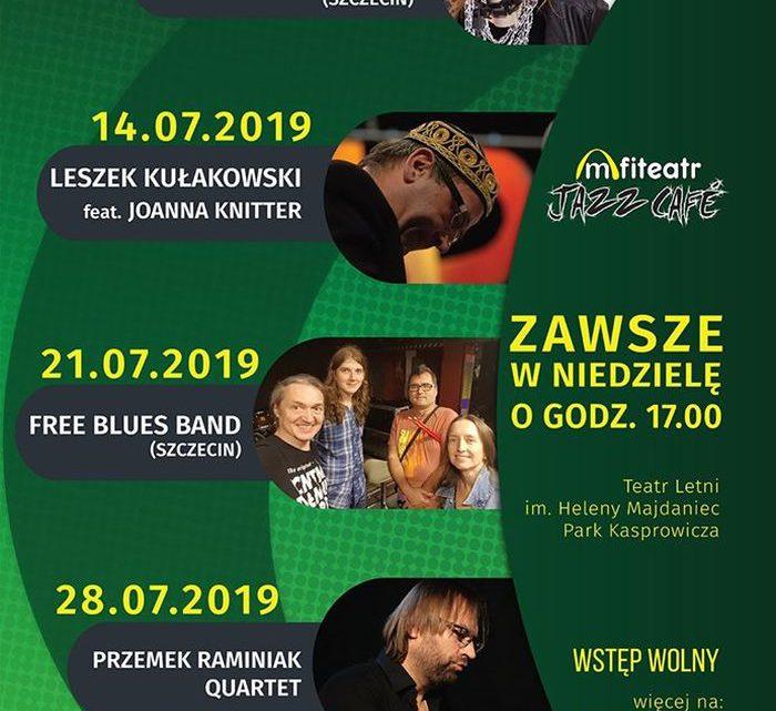 ARCHIWUM. Szczecin. Koncerty. 14.07.2019. Amfiteatr Jazz Café: Leszek Kułakowski & Joanna Knitter @ Teatr Letni /Amfiteatr
