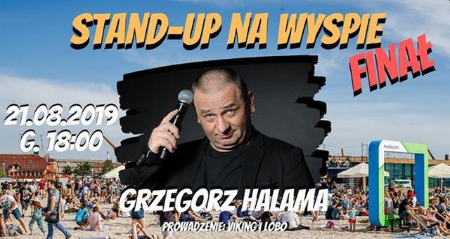 ARCHIWUM. Szczecin. Imprezy. Wydarzenia. 21.08.2019. Stand-Up na Wyspie FINAŁ: Grzegorz Halama + Open-mic @ Plaża na Wyspie Grodzkiej