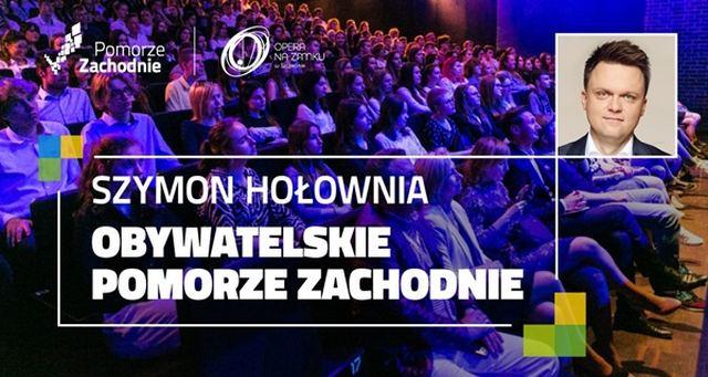 ARCHIWUM. Szczecin. Wydarzenia. 29.08.2019. Szymon Hołownia – Obywatelskie Pomorze Zachodnie @ Zamek Książąt Pomorskich, Opera na Zamku