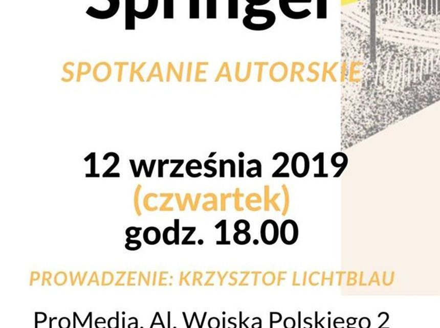 ARCHIWUM. Szczecin. Wydarzenia. 12.09.2019. Spotkanie autorskie z Filipem Springerem @ Biblioteka Filia nr 54 [ProMedia]
