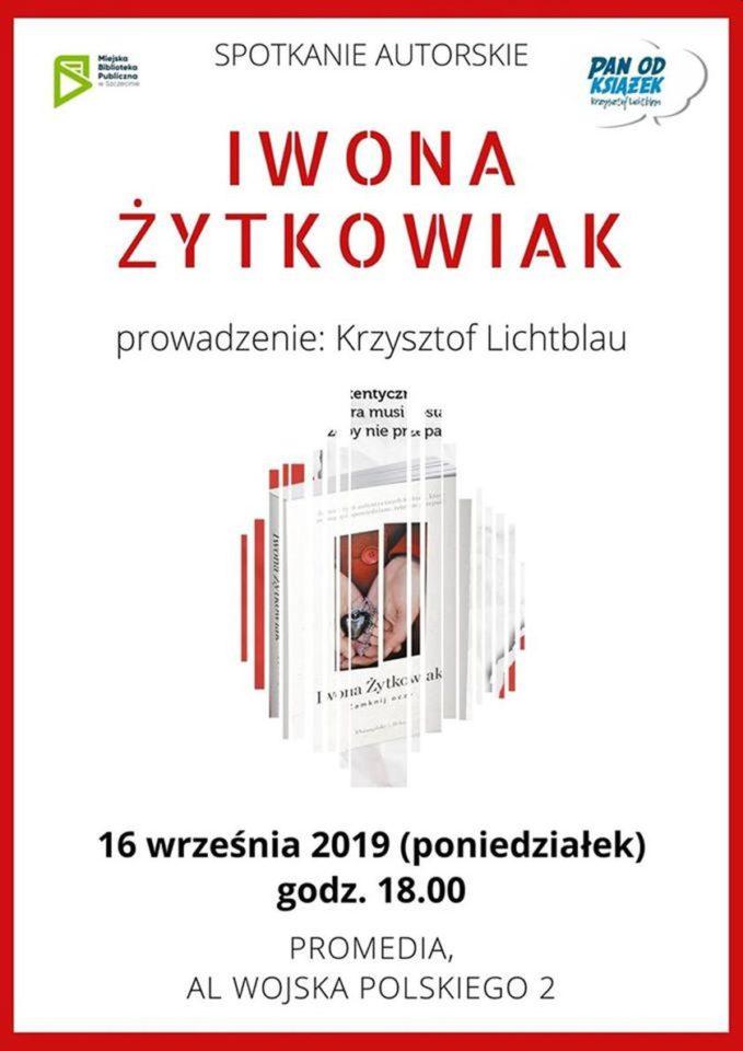 16.09.2019 spotkanie autorskie z Iwoną Żytkowiak