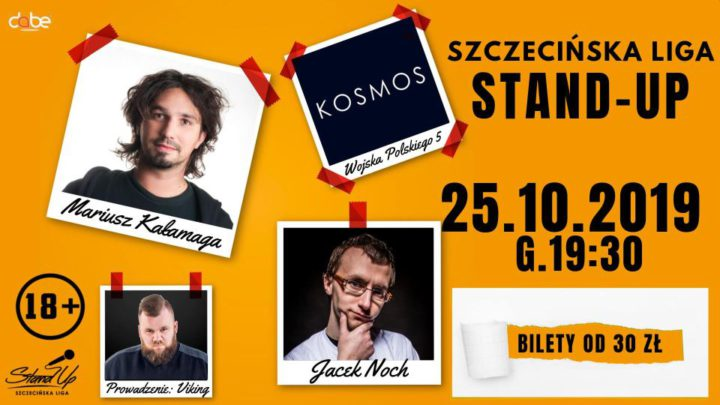Szczecin. Wydarzenia. 25.10.2019. Szczecińska Liga Stand-Up @ Kosmos
