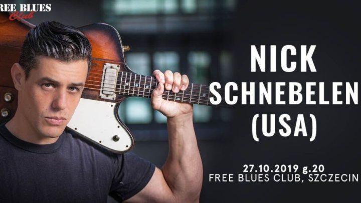 ARCHIWUM. Szczecin. Koncerty. ♪ 27.10.2019. Nick Schnebelen @ Free Blues Club