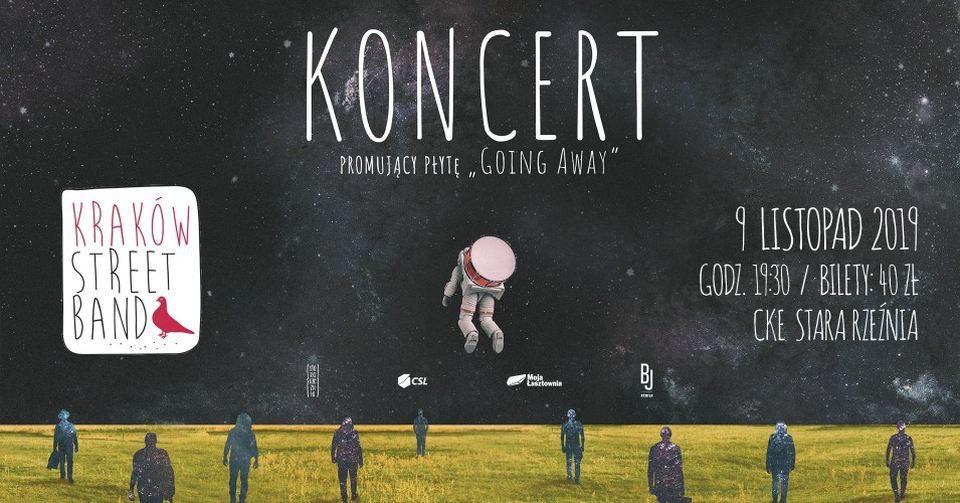 9 listopada 2019 Kraków Street Band, koncert w Szczecinie