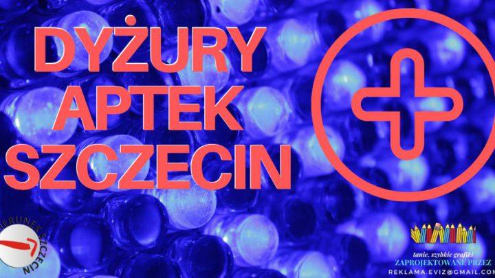 Szczecin. Informacje. Dyżury aptek. 16.04.2021. Piątek