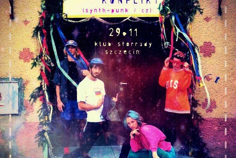 ARCHIWUM. Szczecin. Koncerty. 29.11.2019. München Konflikt + Ogdens' @ Domek Grabarza