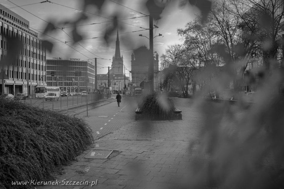 Szczecin na co dzień, 27 listopada 2019, Brama Portowa, Katedra w Szczecinie
