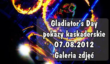 Szczecin. Fotoreportaż. Pokazy kaskaderskie - Flott Cascaders Team [07.08.2012] w obiektywie