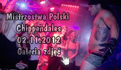 Szczecin. Fotoreportaż. 02.11.2012. Mistrzostwa Polski Chippendales. Najlepsi tancerze erotyczni w obiektywie