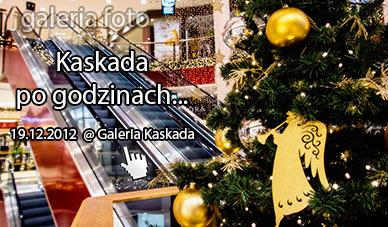 Szczecin. Fotoreportaż. 19.12.2012. Galeria Kaskada po godzinach…