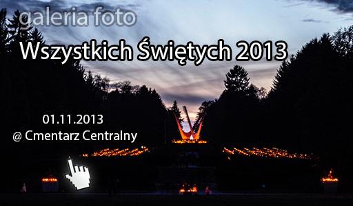 Szczecin. Fotoreportaż. Wszystkich Świętych [01.11.2013] @ Cmentarz Centralny w Szczecinie w obiektywie