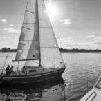 21.09.2016 środowe regaty na jeziorze Dąbie Małe