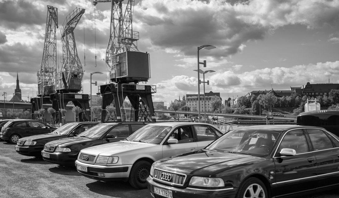 Szczecin. FOTOREPORTAŻ. 05.05.2019. Zlot Władców czterech pierścieni, czyli Majówka z klasycznymi pojazdami marki Audi @ Łasztownia