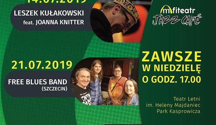 ARCHIWUM. Szczecin. Koncerty. 21.07.2019. Amfiteatr Jazz Café: Free Blues Band @ Teatr Letni /Amfiteatr