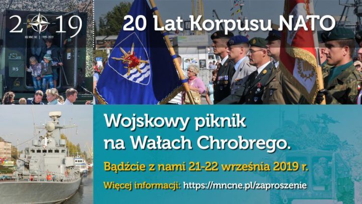 ARCHIWUM. Szczecin. Imprezy. Wydarzenia. 21-22.09.2019. 20 lat NATO w Szczecinie @ Wały Chrobrego