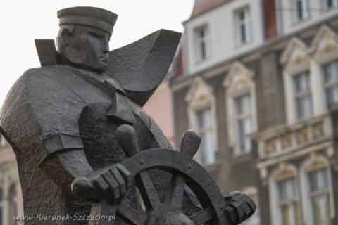 Pomnik Marynarza Sternika w Szczecinie, 2020 01 06